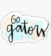 Go Gators Sticker