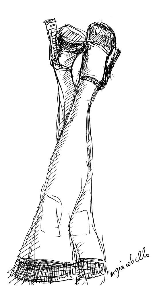 Legs by michelle giacobello