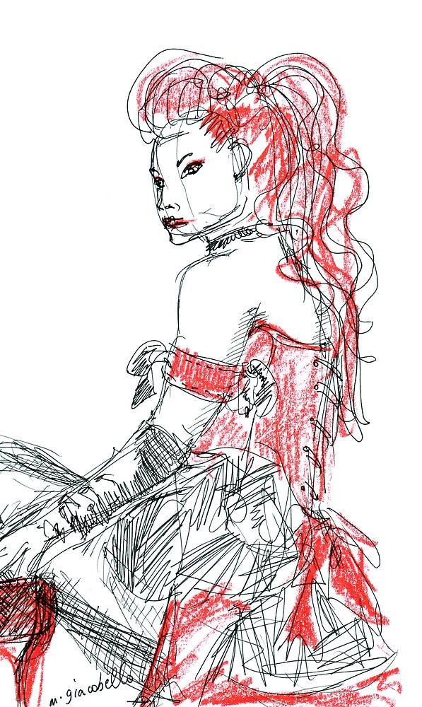 Goth 2 by michelle giacobello