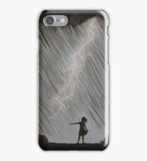 Lightning Girl iPhone Case/Skin