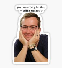 your sweet baby brother griffin mcelroy from polygon.com Sticker