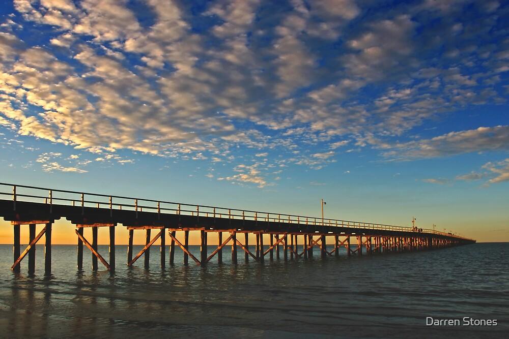 Urangan Pier at Hervey Bay by Darren Stones