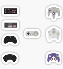 Retro Controller stickers Sticker