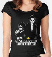 Camiseta entallada de cuello ancho 'The Kingslayer Brothers'