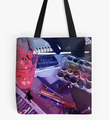 Workspace Tote Bag