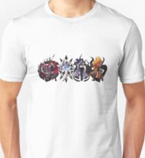 Team RWBY Volume 4 & Emblems Unisex T-Shirt