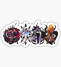 Team RWBY Volume 4 & Emblems Sticker