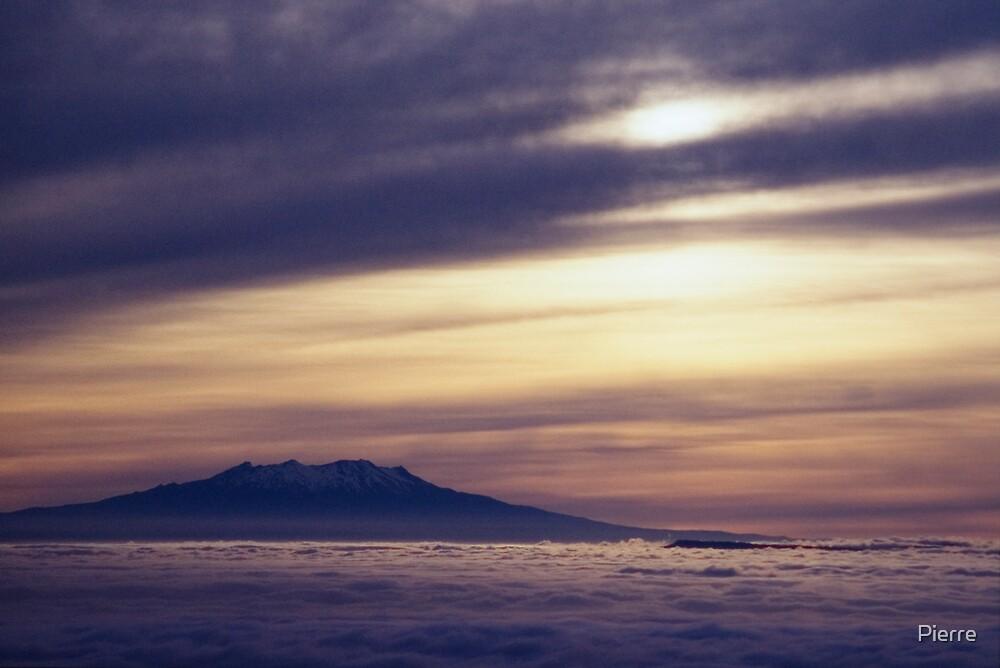 Taranaki Sunrise by Pierre