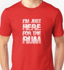 Soca Shirt - I'm Just Here For The Rum Tshirt, Hoodies & More Unisex T-Shirt
