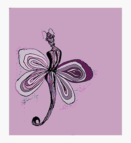Pink Fairy Photographic Print