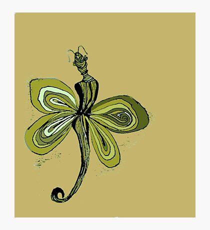 Yellow Fairy Photographic Print