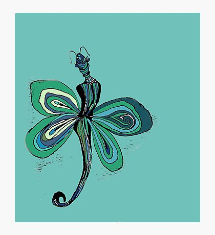 Green Fairy Photographic Print