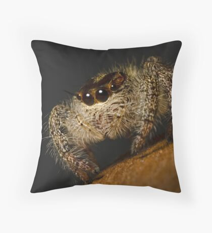 Woolly Predator Throw Pillow