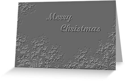 Christmas Card (MC#)5  by C J Lewis
