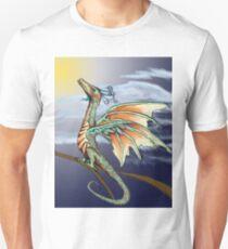 Fledgling Hummingbird Dragon Pseudodragon Unisex T-Shirt