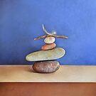 Balancing act by Elena Kolotusha