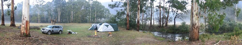Bush Camping by Jason Kerr