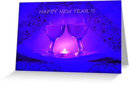 Happy New Year  by Linda Bianic