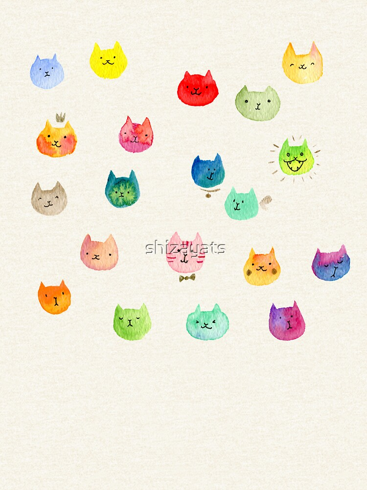 Cat confetti by shizayats