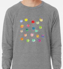 Cat confetti Lightweight Sweatshirt