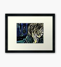 A Girl In A Room Framed Print