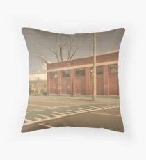 Benign Street Throw Pillow