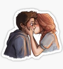 Stydia first kiss Sticker