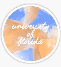 University of Florida sticker Sticker