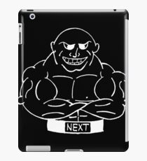 Muscle Man #2 iPad Case/Skin