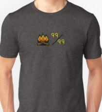 Oldschool Runescape 99 Firemaking Unisex T-Shirt