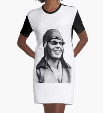 Amelia Earhart Deal With It Graphic T-Shirt Dress