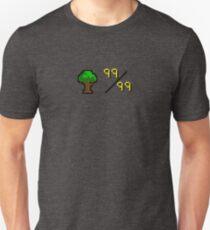 OldSchool Runescape 99 Woodcutting Unisex T-Shirt