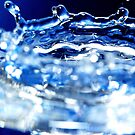 Blue Splash by Yip Huang