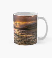 Yaverland Beach Sunset Classic Mug