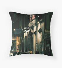 Melbourne with a touch of Europe Throw Pillow