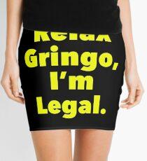 Relax gringo, I'm leagal Mini Skirt