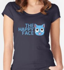 The Happy Face Women's Fitted Scoop T-Shirt