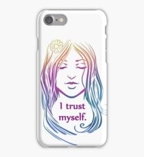 Affirmations- I Trust Myself. iPhone Case/Skin