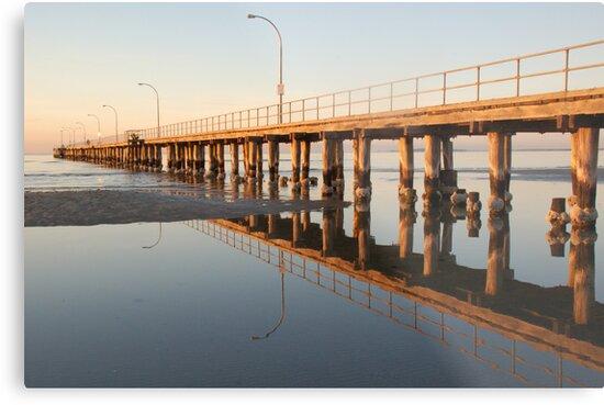 Altona Pier in the morning by Chris Moysey