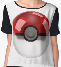 Pokeball - Pokemon Chiffon Top