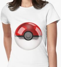 Pokeball - Pokemon Women's Fitted T-Shirt