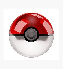 Pokeball - Pokemon Photographic Print