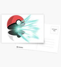 PokeBall Postcards