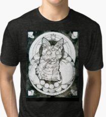 third eye felined Tri-blend T-Shirt