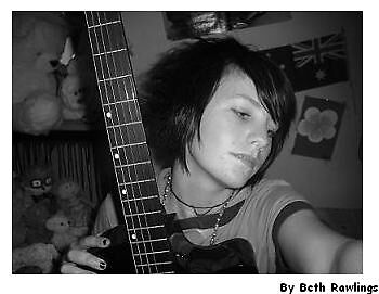 me and my guitar. 4 by elizabethrose05