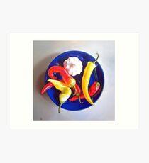Summer plate #1 Art Print