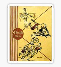Vintage Pee Chee Folder Sticker Sticker