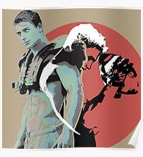 Grid Iron Football  Poster