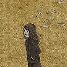paper plane by Eveline Tarunadjaja