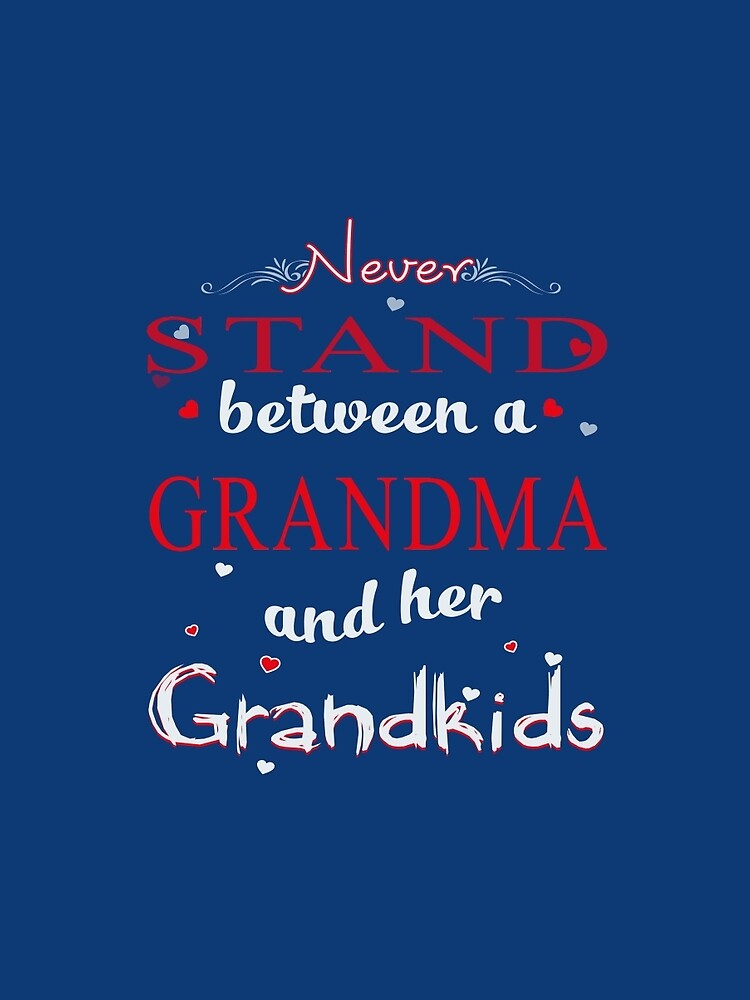 Birthday Gifts Grandma And Grandkids Shirt By Phungngocquynh